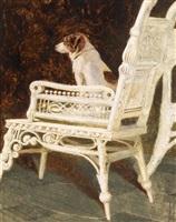 yolk and the wicker chair by jamie wyeth