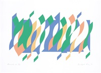 arcadia 4 by bridget riley