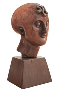 classical head by elie nadelman