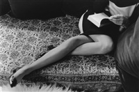 martine's legs by henri cartier-bresson