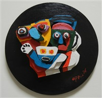 floating family by karel appel