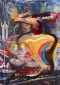 sans titre (shiva) by julian schnabel