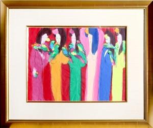 six geishas by walasse ting