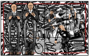 cycle by gilbert & george