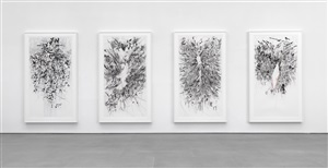 myriads, only by dark by julie mehretu