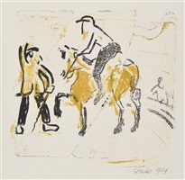 riding act by erich heckel