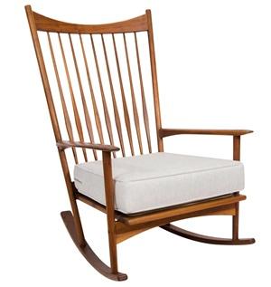 rocking chair by hans olsen by hans pauli olsen