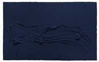 untitled prussian blue by jason martin
