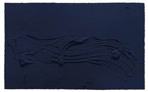 untitled prussian blue by jason martin