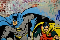 batman & robin by seen