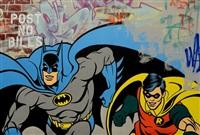 batman & robin by seen