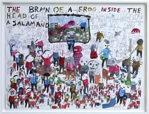 untitled (the brain of a frog) by neil farber