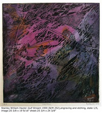 gulf stream by stanley william hayter