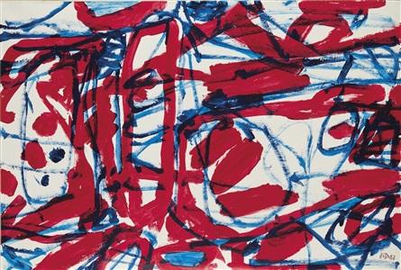 art elysées by jean dubuffet