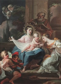 the mystic marriage of st. catherine of alexandria by corrado giaquinto