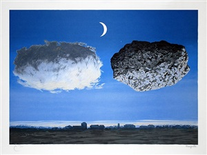 la bataille de l'argonne (the battle of the argonne) by rené magritte