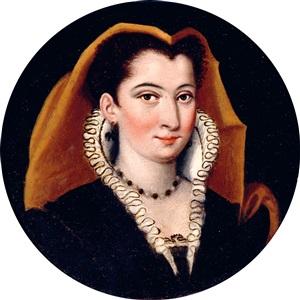 portrait of a lady by jacopo zucchi