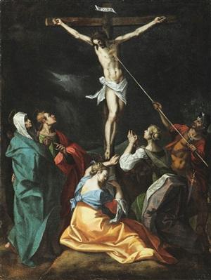 crucifixion by jeremias van winghe