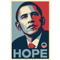 hope by shepard fairey