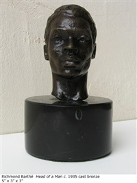 head of a man by richmond barthe