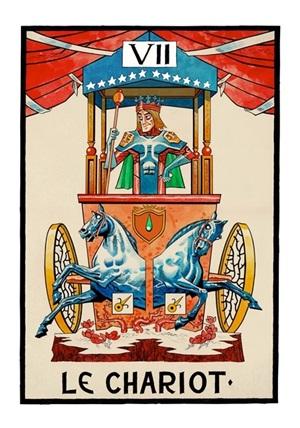 vii le chariot by jamie hewlett