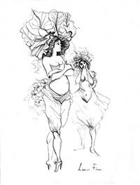 two women by leonor fini