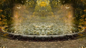 surreal pond i (epiphany) by sonia khurana