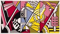 peace through chemistry i by roy lichtenstein