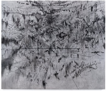 julie mehretu the mathematics of droves by julie mehretu