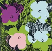 flowers, fs ii.64 by andy warhol