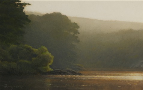 morning mist (sold) by peter bergeron