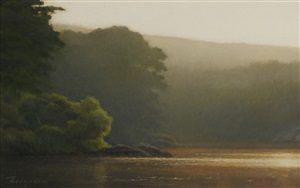 morning mist by peter bergeron