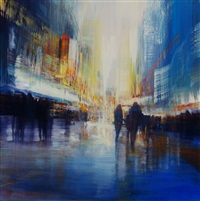 nyc, electric symphony by david allen dunlop