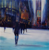 nyc, against the sunlight by david allen dunlop