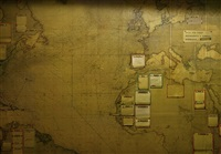 imperial war museum, map room by mikkel mcalinden