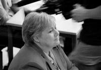 prime minister erna solberg by mikkel mcalinden