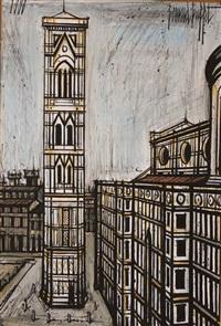 florence, le campanile de giotto by bernard buffet