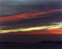 golden gate bridge, 10.31.98, 5:23 pm by richard misrach