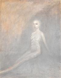 white shaman by nathan oliveira