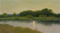 the calm at the end of the day (sold) by dennis sheehan
