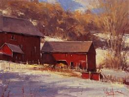 red barns by george van hook