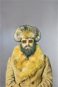 autoritratto con occhiali gialli by michelangelo pistoletto