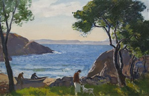 plum cove, annisquam by gifford beal
