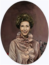 the oval portrait by ian whitmore