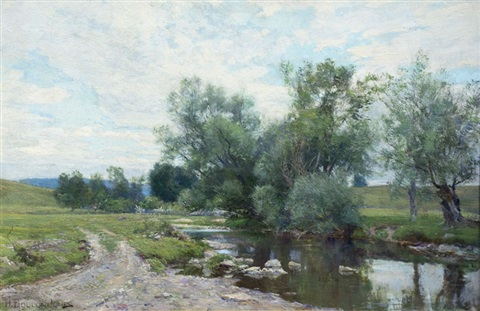 on the green river by hugh bolton jones