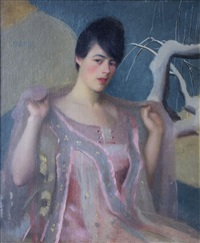 rose and pink by william mcgregor paxton
