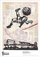 bicycle kick by william kentridge