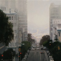 lifting skies toward potrero by ben aronson