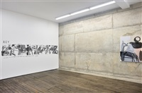 installation view, campoli presti, paris by amy sillman