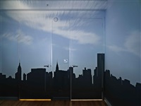 camera obscura: late afternoon view of the east side of midtown manhattan by abelardo morell